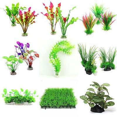 Grass Aquarium Decoration Water Weeds Ornaments Plastic Plant Fish Tank Decor