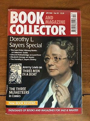 Book And Magazine Collector N°241 Apr 2004 Dorothy L. Sayers / 3 Men In A Boat