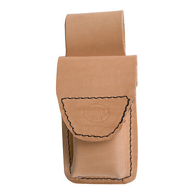 Large Leather Mobile Phone Holder For Scaffolding Tool Belt Connell of Sheffield