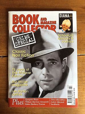 Book And Magazine Collector N°252 Feb 2005 Crime Special / Maltese Falcon