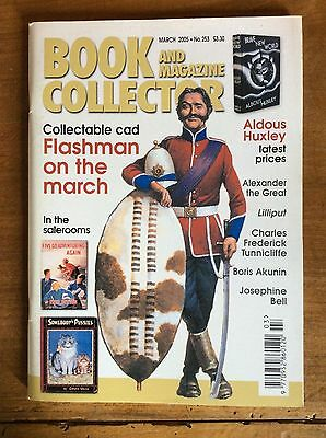 Book And Magazine Collector N°253 Mar 2005 Flashman / Huxley / Josephine Bell