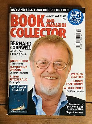 Book And Magazine Collector N°264 Jan 2006 Bernard Cornwell / F.scott Fitzgerald