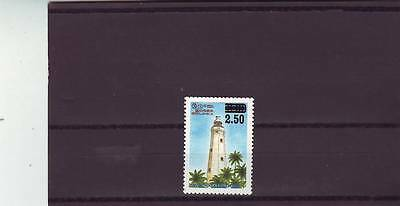 SRI LANKA - SG1347 MNH 1997 SURCH 2r.50 ON 2r LIGHTHOUSE