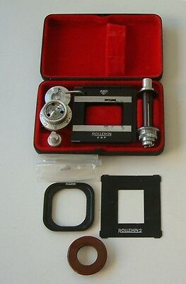 Rolleikin 2 35mm adapter kit for Rolleiflex and Rolleicord