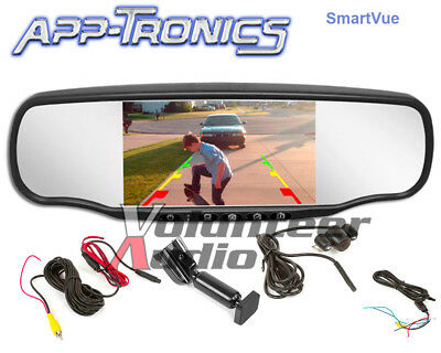 App-Tronics SmartVue Mirror with 5 Inch Screen and Backup Camera