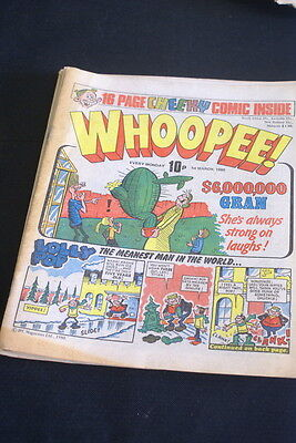 WHOOPEE Vintage Comic. 1st March 1980