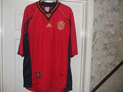 Vintage Spain - Espana Football Shirt # Adult Xl 1998 - 1999