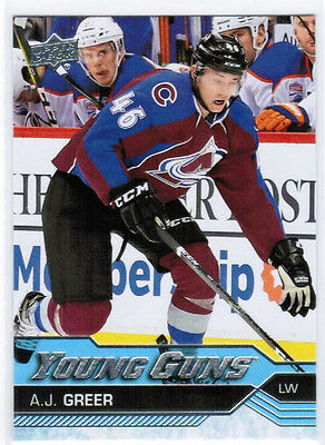 16/17 UD UPPER DECK UPDATE YOUNG GUNS ROOKIE RC CARDS (516-525) U-Pick From List