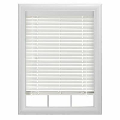 Corded Blinds w/ Faux Wood - Effective Proficient Perfect for High Traffic Areas