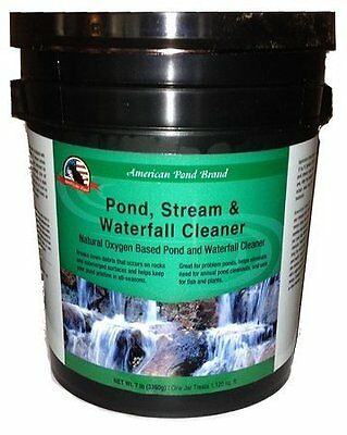Liquid Pond Stream & Waterfall Cleaner Great for Clean Rocks and Edges 32 oz