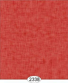Miniature Dollhouse 1:12 Scale Wallpaper Annabelle Weave Red - 2338
