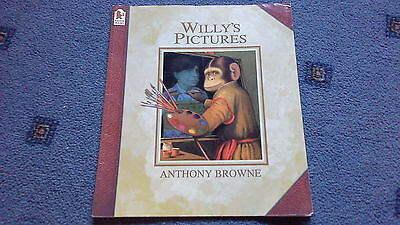 Willy's Pictures Book by Browne  Anthony (Paperback) 9781406313567