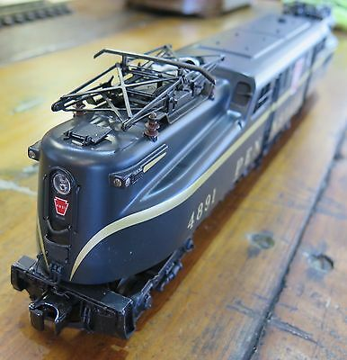 .MTH Rail King GG-1 Electric Engine PENNSYLVANIA Black Single Stripe Proto 2.0