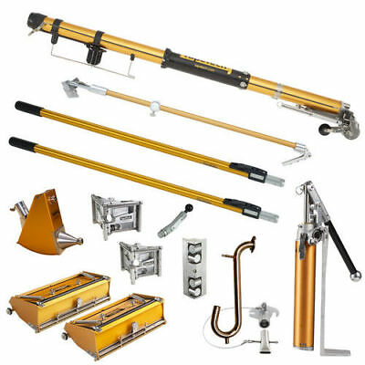 TapeTech TTSFS Standard Drywall Taping Tools Full Set with Loading Pump New