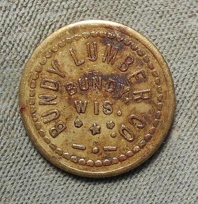 Bundy WI Bundy Lumber Co GF 5 IM Trantow - Denomination Not Listed WIsconsin
