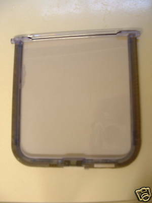 Spare  Door For Cat Mate  Flap 210  ( Glass 4 Way Lock)