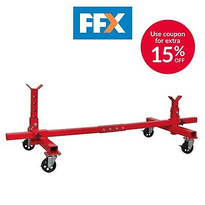 Sealey VMD001 Vehicle Moving Dolly 2 Post 900kg