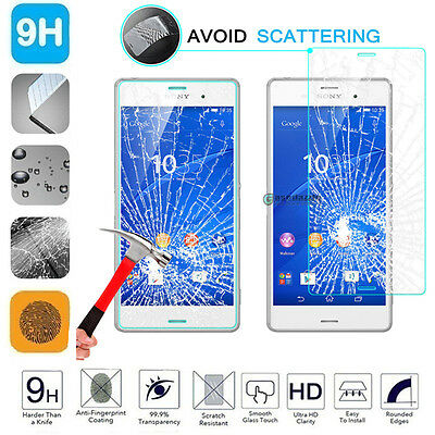 100% Genuine Gorilla Tempered Glass Film Screen Protector For Sony