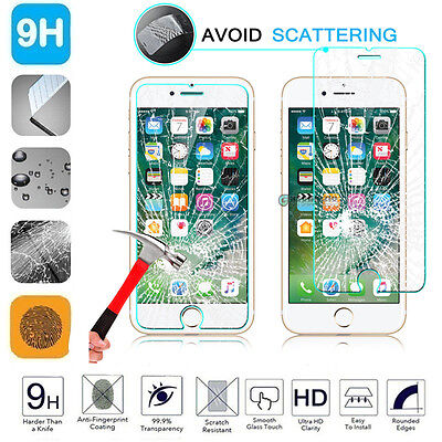 100% Genuine Gorilla Tempered Glass Film Screen Protector For iPhone
