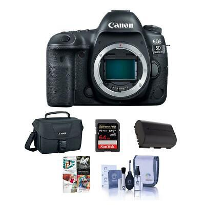 Canon EOS 5D Mark IV DSLR Body with Free Accessory Bundle #1483C002 NK