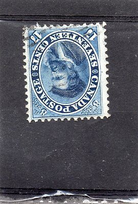 Canada SG42 1859 17c very fine lightly used cat £90