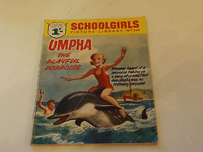 SCHOOLGIRLS PICTURE LIBRARY,NO 268,1964 ISSUE,GOOD FOR AGE,53 yrs old,VERY RARE.
