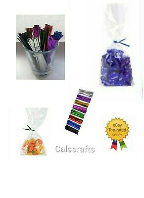 """5 x 7"""" Clear Cello Display Bags For Lollipops, Cake pops, Sweet Party gift"""