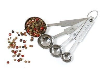 Norpro Stainless Steel Kitchen Spice Baking Cooking Measuring Spoons 4Pc 3049