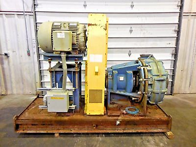 "RX-3626, METSO HM250 FHC-D 10"" x 8"" SLURRY PUMP W/ 75HP MOTOR AND FRAME"