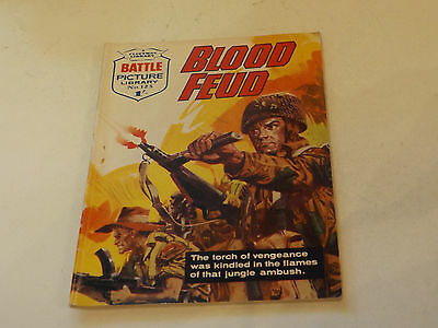 BATTLE PICTURE LIBRARY NO 123,dated 1963!,V GOOD FOR AGE,VERY RARE,54 yrs old.