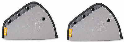 Brica 2-Pack Seat Belt Adjusters in Grey By Munchkin Free Shipping!!