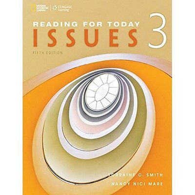 Reading for Today 3: Issues (Reading for Today, New Edi - Paperback NEW Lorraine