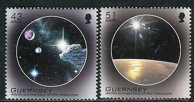 EUROPA CEPT 2009 - GREAT BRITAIN - GUERNSEY - Astronomy - MNH Set