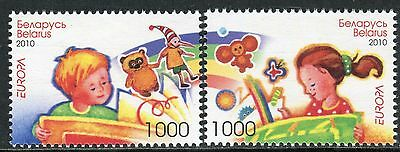 EUROPA CEPT 2010 - BELARUS - Children`s Book - MNH Set