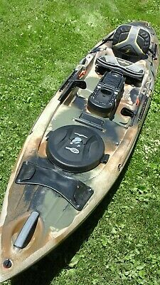 OCEAN KAYAK TRIDENT 13 Brown Camo 2017 Demo!! - $999 00