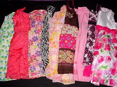 Used Baby Toddler Girl Dress Spring Summer Outfit Size 10/12 10 12 Clothes Lot