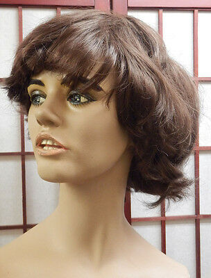 VTG 60s SMILING Decter MANNEQUIN female Open mouth Teeth JCPenney 70'S