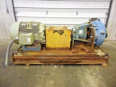 "RX-3629, METSO HM200 FHC-D 8"" x 6"" SLURRY PUMP W/ 100HP MOTOR AND FRAME"