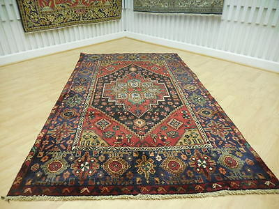 Ca1930 VG DY ANTIQUE PERSIAN  AFSHARI GOLTHOUGH BIJAR BIJAR 5x7 ESTATE SALE RUG
