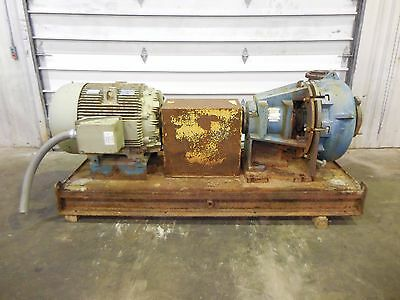 "RX-3631, METSO HM200 FHC-D 8"" x 6"" SLURRY PUMP W/ 100HP MOTOR AND FRAME"