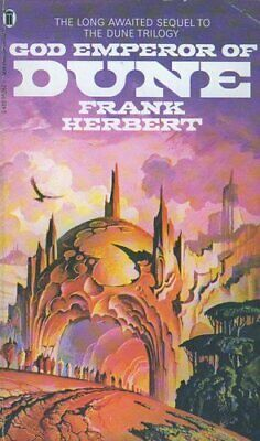 God Emperor of Dune Paperback Book The Cheap Fast Free Post
