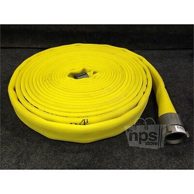 "All American Hose 1111842041 Water Discharge Fire Hose, 1-1/2"" x 50 Ft. 400 PSI*"