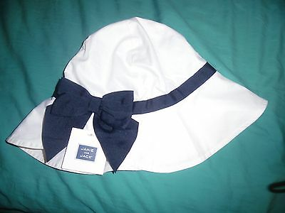 Janie and Jack Girls SHELL BEACH Sun Hat Pool SUMMER SIZE 4-5 Derby Formal NEW