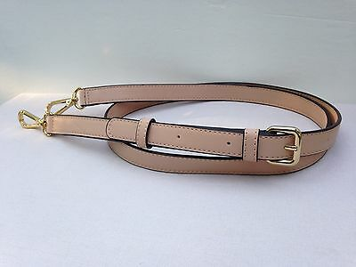 DKNY Replacement Clip-On Purse Strap Crossbody Shoulder Bag Tan Leather