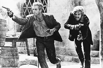 Butch Cassidy And The Sundance Kid Newman & Redford Guns Blazing 11X17 Poster