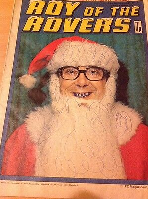 ROY OF THE ROVERS Comic-1976 25/12/76 More ombré And Wise Christmas Edition