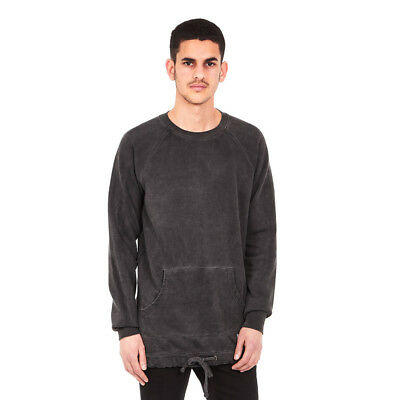 Akomplice - Tact Overdye Sweater Charcoal Pullover Rundhals