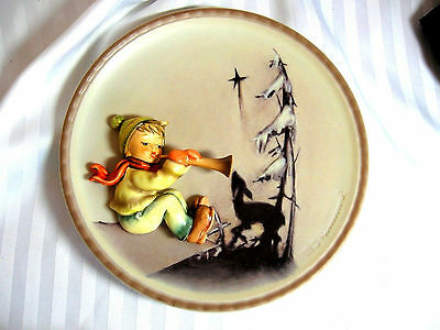 Hummel Goebel Germany 1995 Collector Plate Winter 1996 1St Ed In Series Of 4
