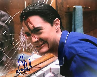KYLE MacLACHLAN signed rare TWIN PEAKS photo - REAL/OBTAINED IN-PERSON/PIC PROOF