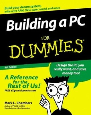 Building a PC for Dummies by Chambers, Mark L. Paperback Book The Cheap Fast